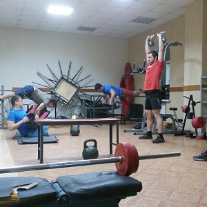 Круговой метод тренировки атлетов