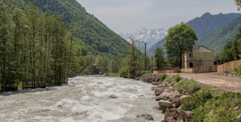 Сплавной тур в Грузии