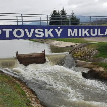 Липтовски Микулаш: гребной слалом с элементами горного туризма  ©Полина Короткова