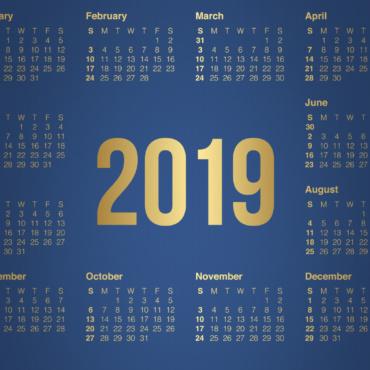 Календарный план на 2019